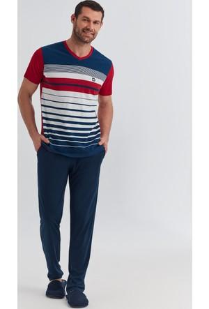 Dagi Erkek Pijama Takımı Kırmızı E0217Y0350