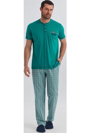 Dagi Erkek Pijama Takımı Yeşil E0217Y0400