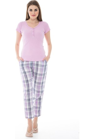 Dagi Kadın Pijama Takımı Lila B0216Y1050