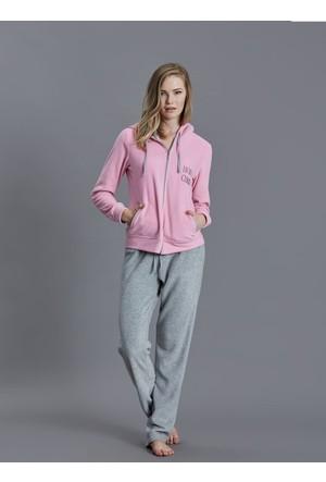 Dagi Kadın Pijama Takımı Pembe B0216K0850