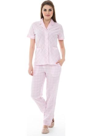 Dagi Kadın Pijama Takımı Pembe B0216Y0360