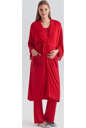 Dagi Kadın Sabahlık Kırmızı B0217Y0330