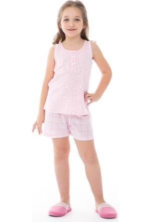 Dagi Kız Çocuk Şort Takımı Pembe C0216Y0160