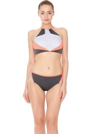 Dagi Kadın Yüzücü Bikini Takımı Antrasit B0117Y0210