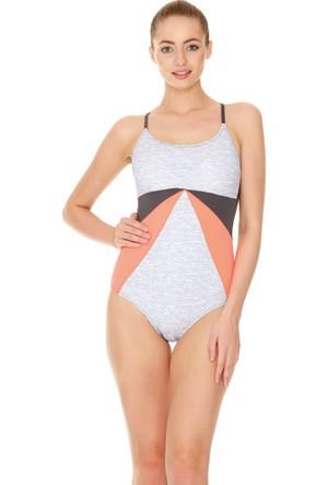 Dagi Kadın Yüzücü Mayo Antrasit B0117Y0220