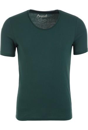 Jack Jones T-Shirt Jorwolf Ss U Neck 12111154-BUG