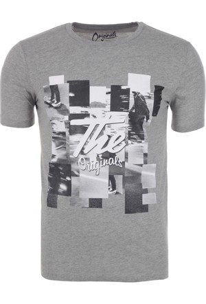 Jack & Jones Erkek T-Shirt 12129556
