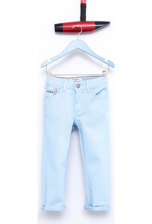 U.S Polo Assn. Carloskids7Y-İng Erkek Çocuk Dokuma Spor Pantolon Mavi