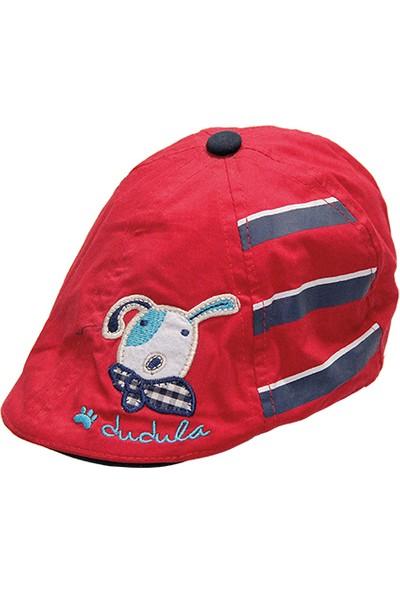 Bay Şapkacı Erkek Çocuk Biyeli Kasket Şapka