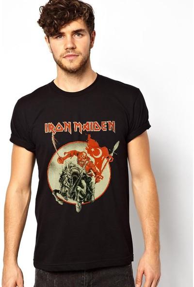 Tshirthane İron Maiden Türkiye Siyah T-Shirt