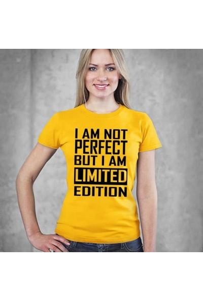 Tshirthane I'M Not Perfect Byn Mavi Tshırt T-Shirt