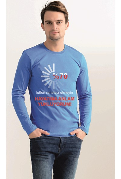 Tshirthane Hayatıma Anlam Yüklüyorum Uzun Kollu T-Shirt