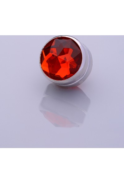 Fsg Takı Kırmızı Gümüş Kaplama Eşarp Mıknatısı