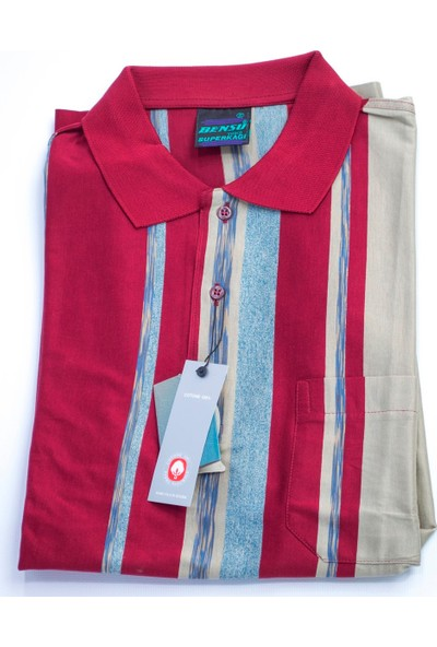 Bensu Pamuklu Cepli Polo Yaka T-Shirt 670