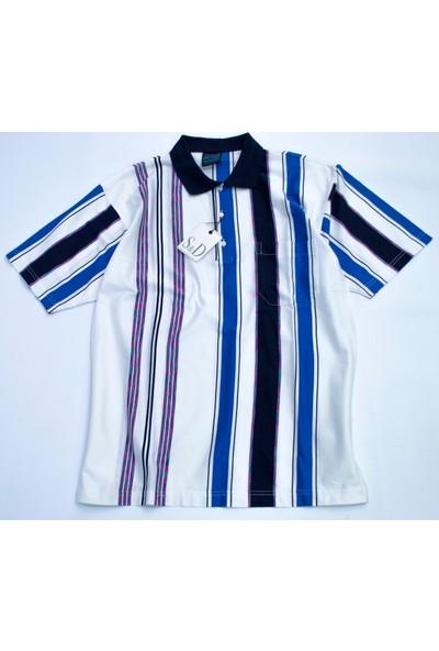 Bensu Pamuklu Cepli Polo Yaka T-Shirt 671