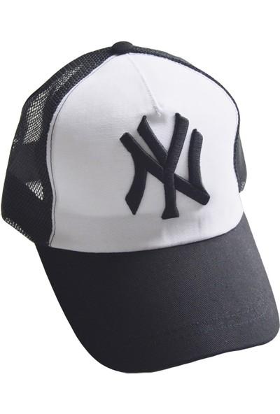 Outlet Çarşım Erkek New York Fileli Ny Kep Şapka