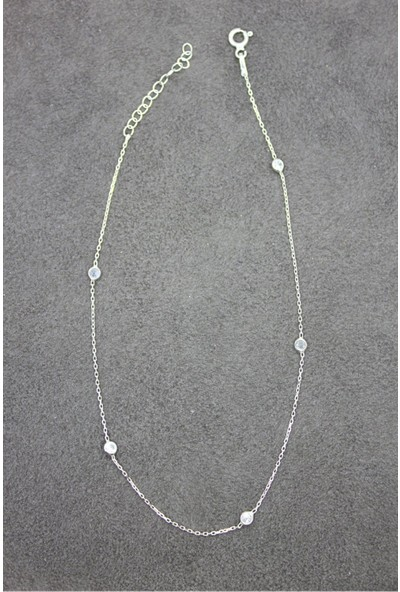 Bella Gloria Tifani Gümüş Halhal (Ghl0007)