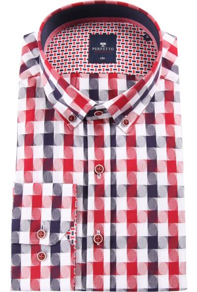 Perfetto Erkek Uzun Kollu Gömlek 1890079