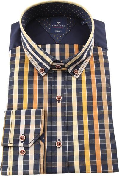 Perfetto Erkek Uzun Kollu Gömlek 1890279