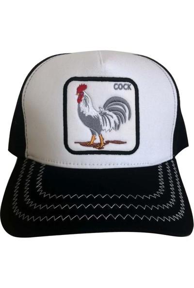 Kazandıran Outlet Horoz Fileli Şapka Kep Erkek