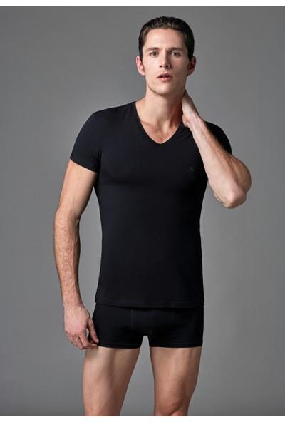 Eros Erkek 2'li Atlet Siyah ES011504