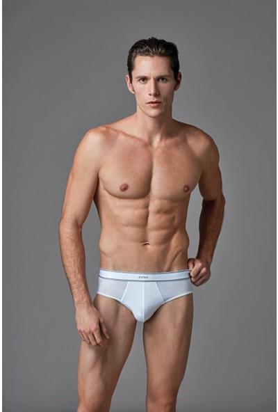 Eros Erkek 2'li Modal Slip Beyaz ES011512