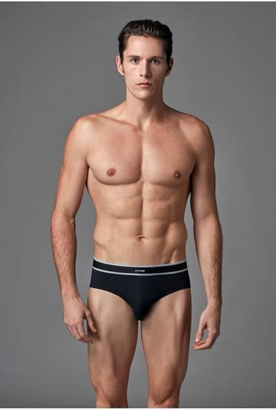 Eros Erkek 2'li Modal Slip Siyah ES011512