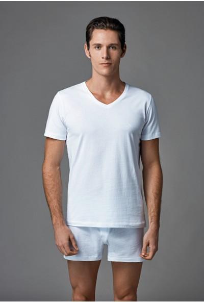 Eros Erkek 2'li Penye Atlet Beyaz ES011529