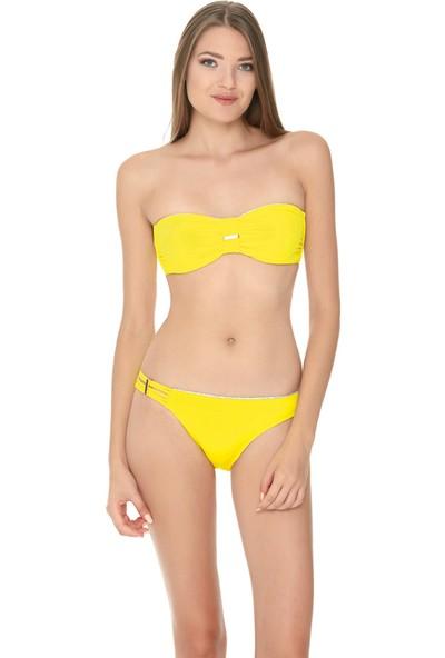 Dagi Kadın Bikini Takımı Sarı B0117Y1880