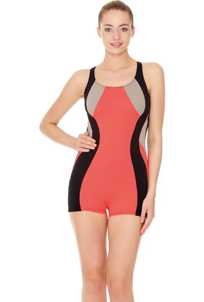Dagi Kadın Yüzücü Mayo Pembe B0117Y0080