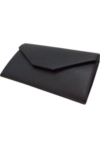 Siyah Bayan Pörtföy Çanta İki Bölmeli