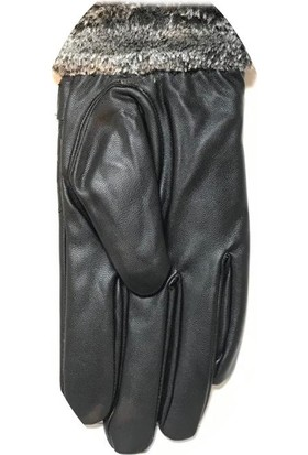 Işnar Moda Erkek Standart Beden Suni Deri Eldiven MG14810NY