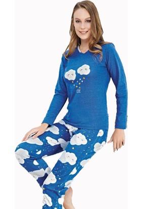 Çelebi 502 Kadın Kışlık Pijama Takım