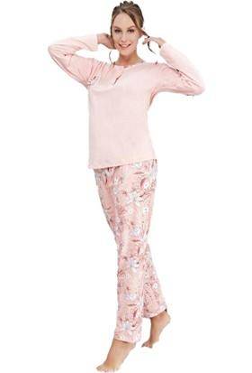Çelebi 643 Kadın Kışlık Pijama Takım