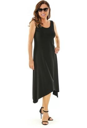 Melisita Aries Büyük Beden Penye Elbise