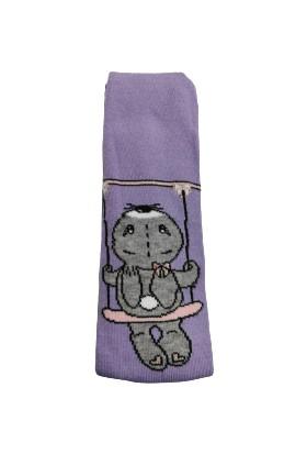 Suna Kız Çocuk Renkli Desenli Külotlu Çorap SN002