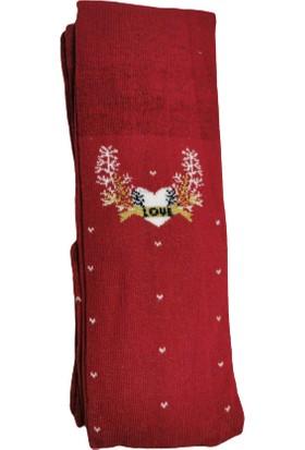 Suna Kız Çocuk Renkli Desenli Külotlu Çorap SN009
