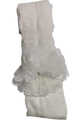 Suna Kız Çocuk Renkli Çiçek Desenli Külotlu Çorap SN006