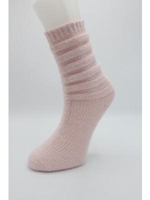 Igloo Cozy Akordion Desen Kadın Çorabı