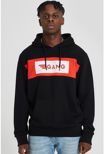 Gang Red White Hoodie