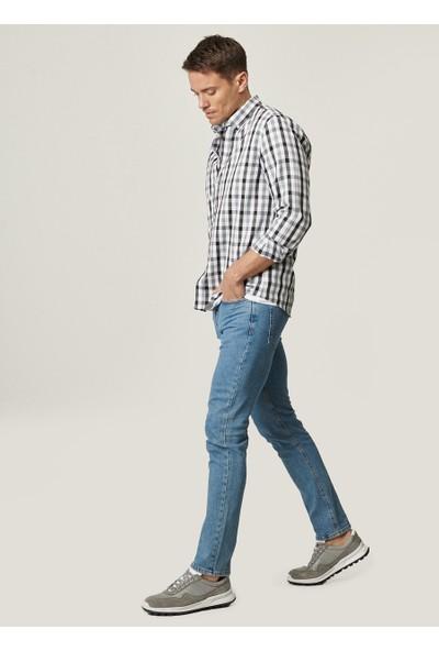 Altınyıldız Classics Jean Slim Fit Dar Kesim Denim 5 Cep Kot Pantolon
