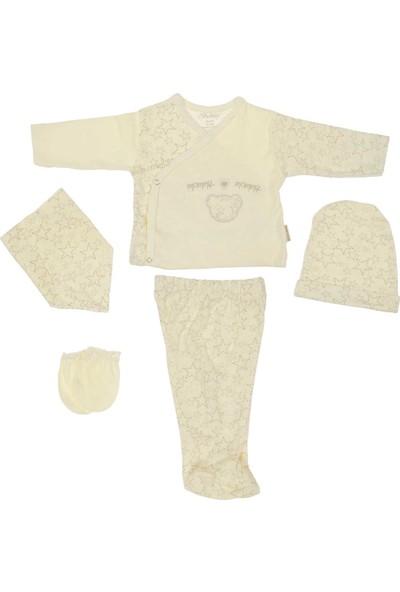Bebitof Üçüzler 5'li Bebek Hastane Çıkış Seti 20018
