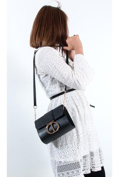 Byhakan HK-077 Kadın Çapraz Çanta Siyah