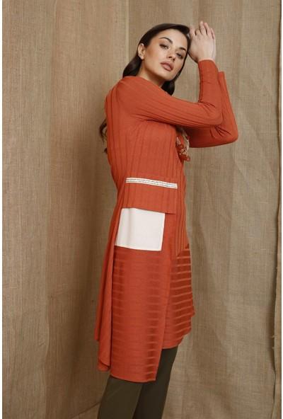 Esswaap Karamel - Örme Bluz