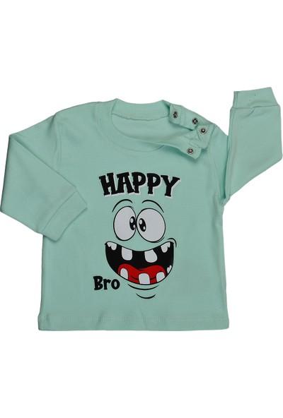 Bebeemm 6735 Erkek Çocuk Aylık Pijama Takımı 3-12 Ay