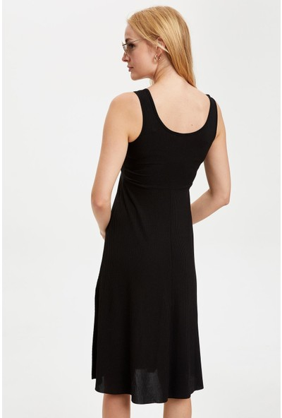 DeFacto Basic Örme Elbise S5568AZ20HS