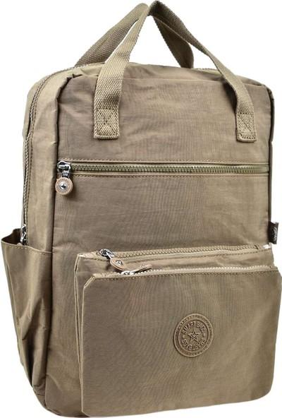 Smart Bags Sırt Çantası Açık Kahve 3066