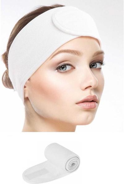 She&co Cırt Cırtlı Spor/makyaj Saç Bandası - Beyaz