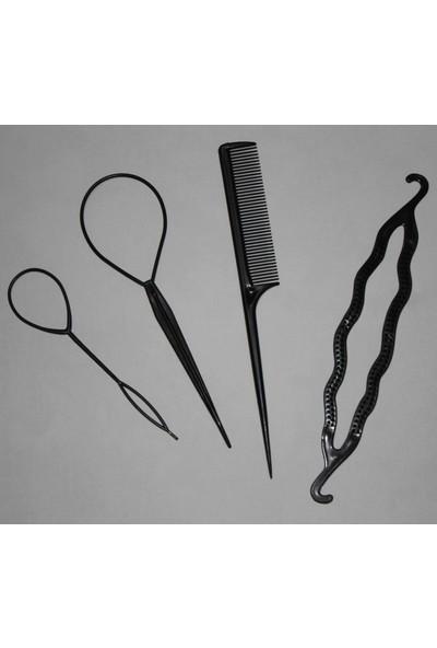 Hızırım Pratik Saç Örgüsü - Topuz Aparatı Seti