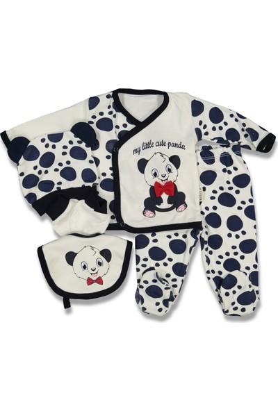 Necix's Panda Hastane Çıkışı 5 Li Zıbın Set